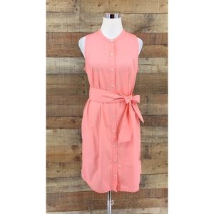NWT J Crew Collection Sleeveless Shirtdress Small